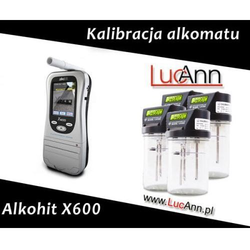 Alkohit Kalibracja alkomatu x600 + świadectwo kalibracji
