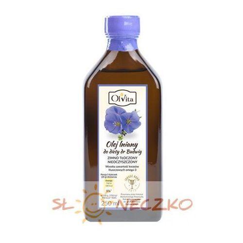 Olej lniany do diety dr Budwig 250ml Olvita, 1F15-48353