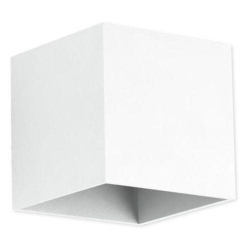 Lampex Kinkiet quado biały