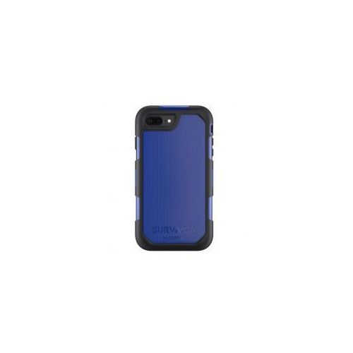 Etui pancerne Griffin Survivor Summit iPhone 7 Plus, czarnoniebieskie - produkt z kategorii- Futerały i pokrowce do telefonów