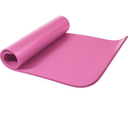Mata do ćwiczeń fitness jogi duża 190x100x1,5cm antypoślizgowa różowa (4260200843616)