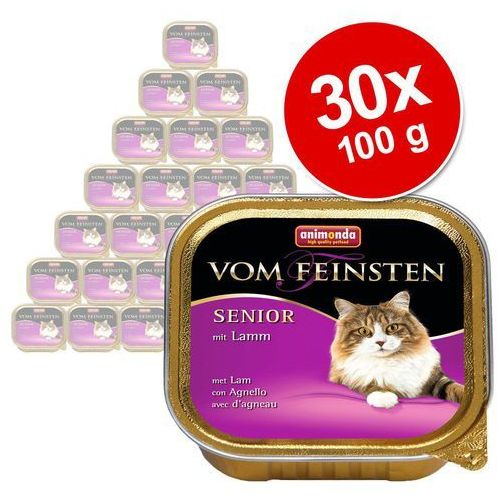 ANIMONDA Vom Feinsten Senior Cat smak: jagnięcina 32x100g (4017721832373)