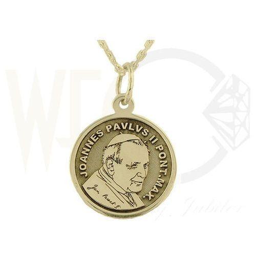 Medalik z żółtego złota wec-z-med-jp-ii-6, marki Węc - twój jubiler