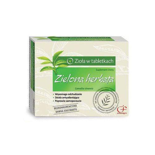 Zielona herbata x 60 tabletek marki Colfarm