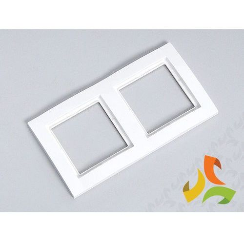 Ramka 2 dwukrotna, biały FIORENA (5901241222310)