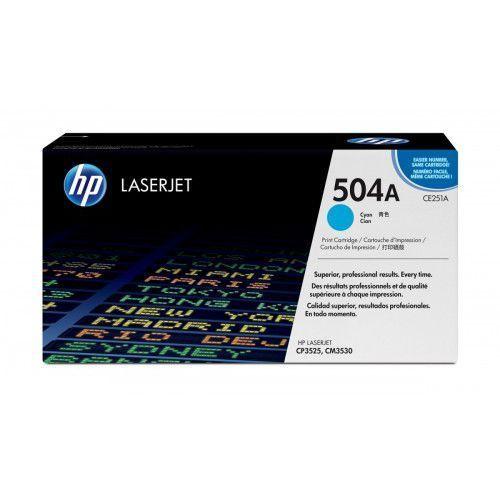 HP Inc. Toner CP3525 Błękitny (Cyjan) 7k CP3525/CM3530 CE251A, 1_114860