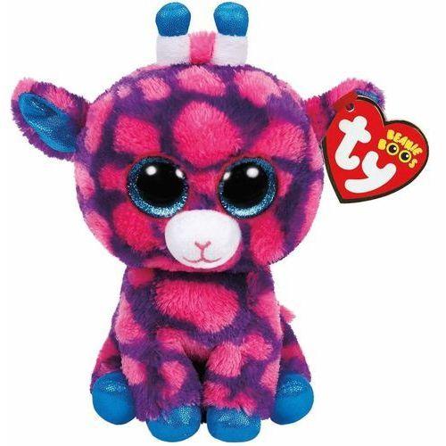 beanie boos sky high - różowa żyrafa marki Ty