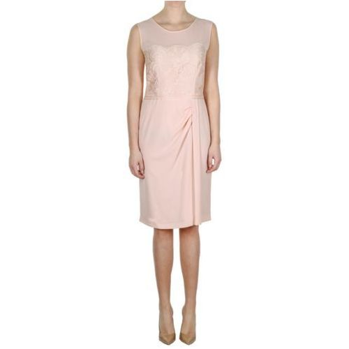Sukienka blady róż (Kolor: różowy, Rozmiar: 42), 1 rozmiar