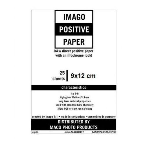 Imago direct positive 9x12 cm/25 rc błysk papier pozytywowy marki Rollei film