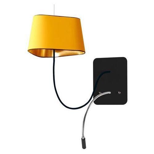 Designheure Petit nuage-kinkiet podwieszany z lampą do czytania led Ø24cm