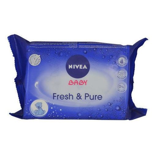 Nivea Baby Fresh & Pure chusteczki oczyszczające 63 szt