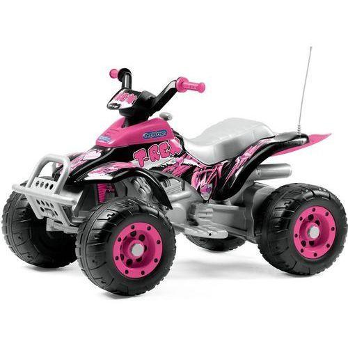 quad corral t-rex różowy marki Peg perego