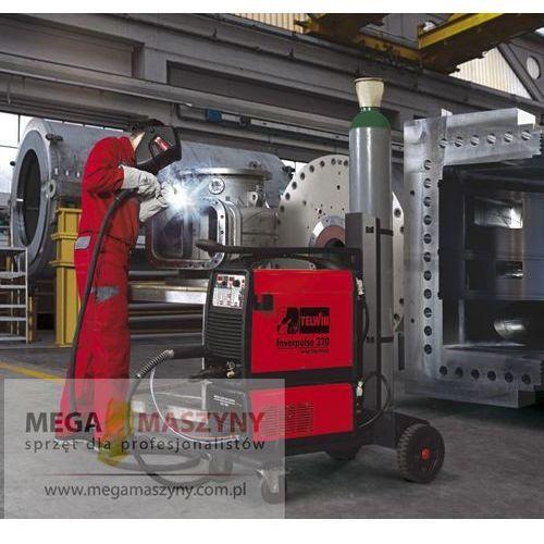 TELWIN Półautomat inwertorowy Inverpulse 320 MIG/TIG/MMA R.A. + wózek z kategorii migomaty i półautomaty spawalnicze