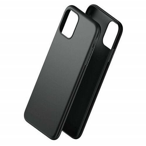 3mk matt case iphone 8 plus czarny /black