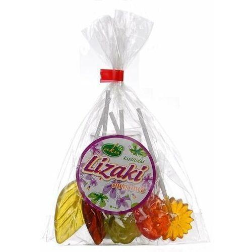 Lizaki owocowe z ksylitolu 5x10g bez cukru -  marki Aka