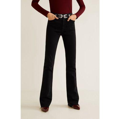 - jeansy flare marki Mango