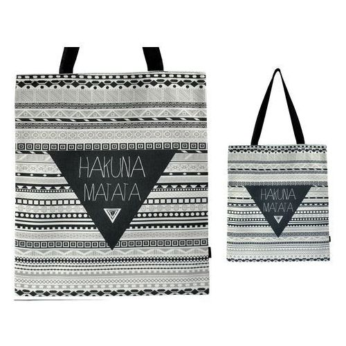 Torebka torba zakupy ramię shopper hakuna matata - tz37 marki Tara