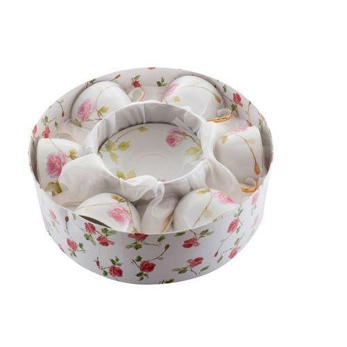 Fusaichi pegasus 6 filiżanki z porcelany róża na prezent walentynki