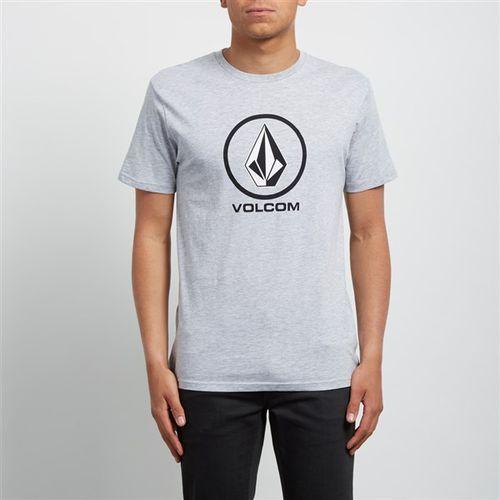 koszulka VOLCOM - Crisp Bsc Ss Heather Grey (HGR) rozmiar: XL, kolor szary