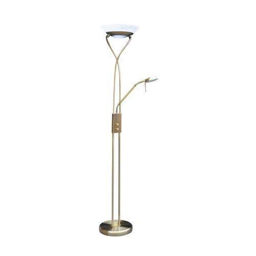 Lampa stojąca podłogowa Rabalux Gamma 1x230W R7S+1x40W G9 brązowy 4078