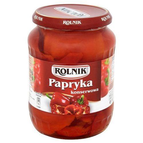 Papryka pomidorowa ćwiartki 720 ml Rolnik