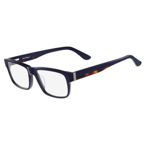 Salvatore ferragamo Okulary korekcyjne sf 2676 417
