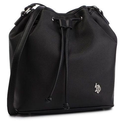 Torebka U.S. POLO ASSN. - New Ports. Bucket Bag BEUNP0435WVP Black