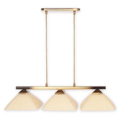 Lemir Lampa wisząca zwis krzyżak 3x60w e27 patyna 973/w3 (5907176575620)