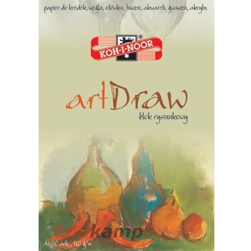 Koh-i-noor Blok rysunkowy art draw a4/50 arkuszy 150g