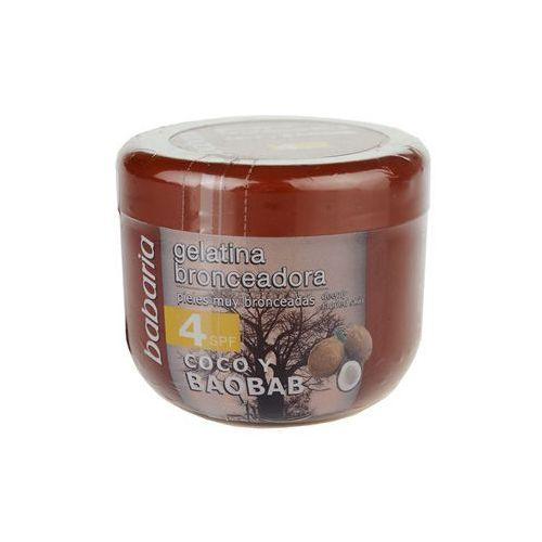 Babaria Sun Bronceador żel tonujący z kokosem SPF 4 (Tanning Cream) 200 ml