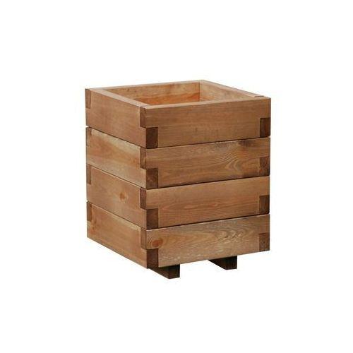 Doniczka kwadratowa domino 31 x 31 cm marki Werth-holz