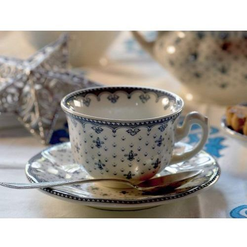 Pickman serwis do herbaty aurora flor de lis 40 el. dla 12 osób marki La cartuja de sevilla