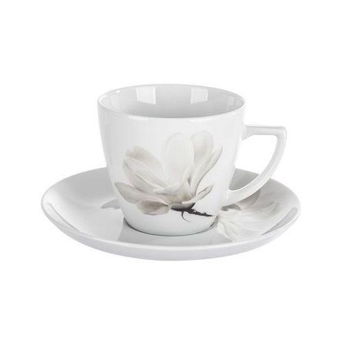 Lubiana magnolia beata dorota 6474 filiżanka ze spodkiem 350 ml marki Lubiana / alice
