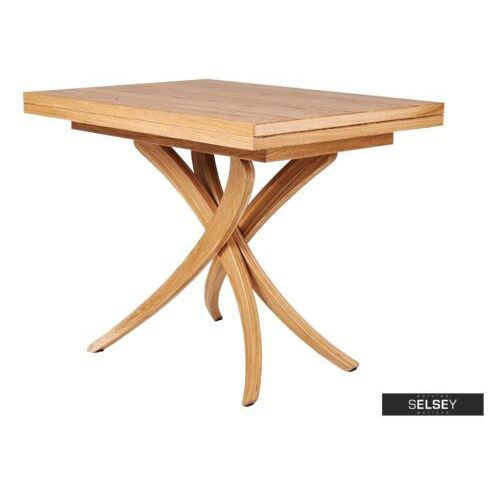 SELSEY Stół rozkładany Genius 3w1 70-140x100 cm kolor naturalny