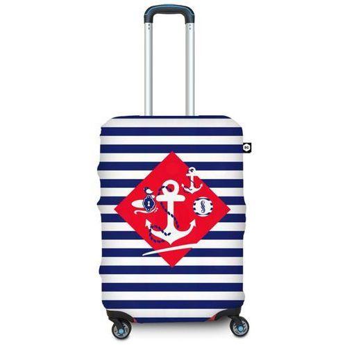 Pokrowiec na walizkę BG Berlin M - navy sense