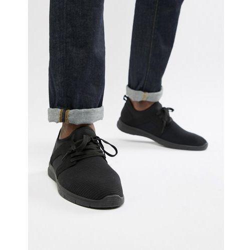 New Look knitted trainers in black - Black, kolor czarny