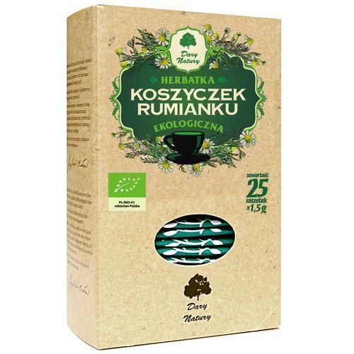 Herbatka z koszyczków rumianku bio (20 x 2 g) - dary natury marki Dary natury - herbatki bio