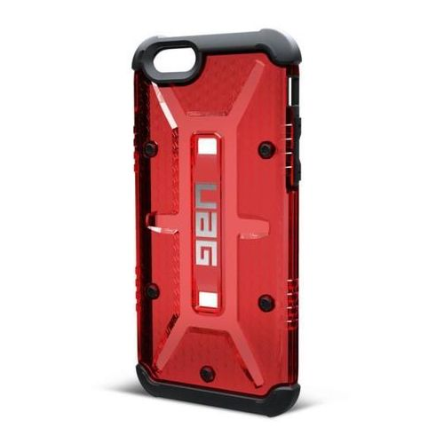 Pancerna obudowa Urban Armor Gear Folio Apple iPhone 6 / 6S Red / Black - Red / Black