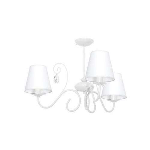 Lampa wisząca LAURA 3xE14/60W/230V biała