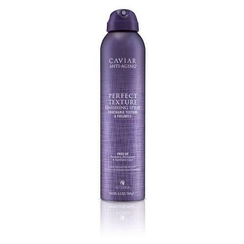 caviar perfect texture spray - wielozadaniowy lakier do włosów 220ml marki Alterna