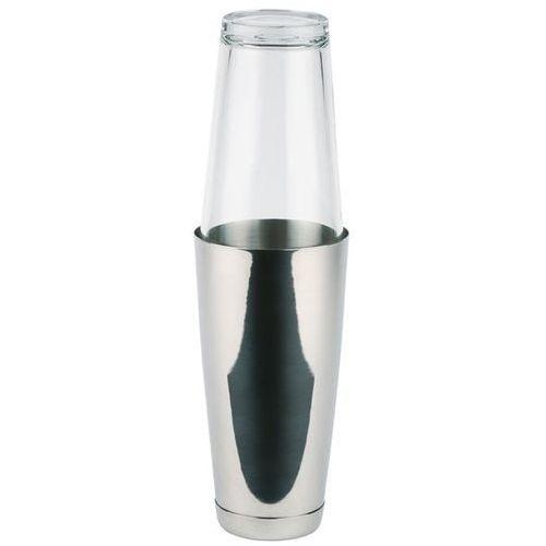 Shaker bostoński ze szklanką | inox | 0,7L
