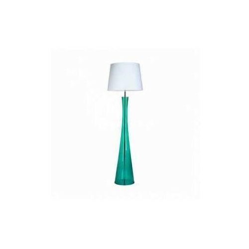 4concepts 4 concepts siena green l235312259 lampa stojąca podłogowa 1x60w e27 biały