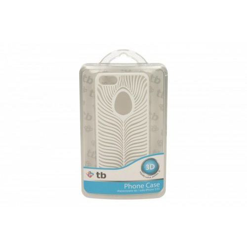 TB Etui Iphone 5/5S pióro biały z kategorii Futerały i pokrowce do telefonów