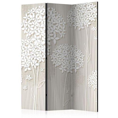 Artgeist Parawan 3-częściowy - papierowe dmuchawce [room dividers]