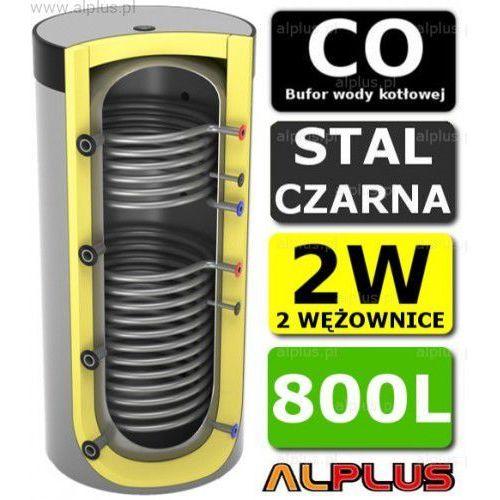 Bufor 800l do co z 2 wężownicami - zbiornik buforowy zasobnik akumulacyjny 800 litrów - wysyłka gratis marki Lemet