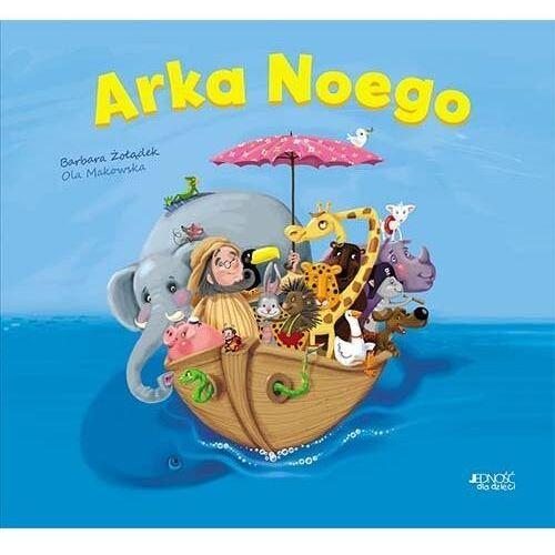 Arka Noego Książka z okienkami - Żołądek Barbara, Makowska Ola - książka, oprawa twarda