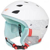 [C4Z16-KSD500] Kask narciarski damski KSD500 - biały
