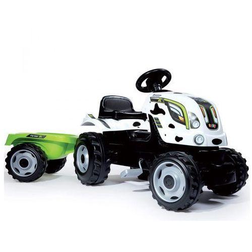 Rower dla dzieci traktor xl krówka marki Smoby