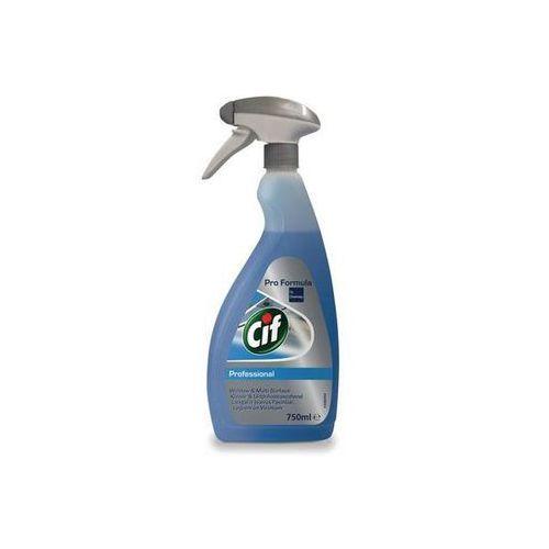 CIF PROFESSIONAL Płyn do mycia szyb, GLASS WINDOW&MULTISURFACE 750 ml