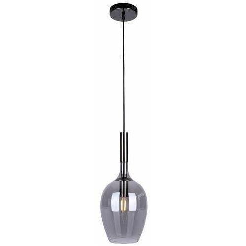 Milagro Tango Smoked ML6165 lampa wisząca zwis 1x40W E14 czarna
